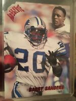 Barry Sanders 1998 Absolute Rare SSP Red Retail #62 Legend Detroit Lions NM-MT