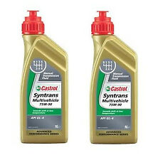 Castrol Syntrans Multivehicle 75W90 MTF GL4 Fully Synthetic Gear Oil - 2 Litres