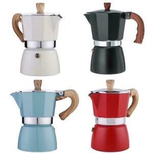 Aluminum Italian Moka Espresso Coffee Maker Percolator Pot Top Stove G1L9
