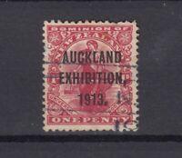 New Zealand 1913 1d Auckland Exhibition SG413 VFU JK2384