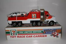 1996 LIMITED EDITION TOY RACE CAR CARRIER 7 ELEVEN #2 COLLECTOR'S SERIES