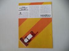 advertising Pubblicità 1988 TRATTORI FIATAGRI FIAT AGRI