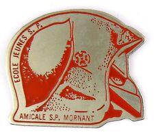 Pin's pin badge ♦ MILITARIA ECOLE JEUNES SAPEURS POMPIERS - AMICALE S.P MORNANT
