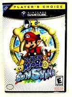 Nintendo GAMECUBE Super Mario Sunshine Game 2002 No Manual