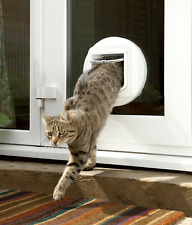 SureFlap SUR001 Microchip Cat Door - White New in Box