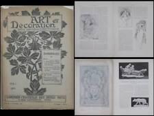 ART ET DECORATION MAI 1900 - MUCHA