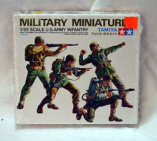 # 35013-500 Tamiya Military Plastic Model 1/35 Scale - US Army Infantry (ref#52)