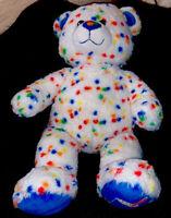 Build a Bear Blizzard DQ Dairy Queen Rainbow Sprinkles Confetti D3