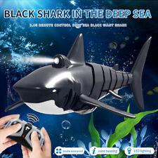 2.4G Remote Control Simulation Shark Electronic Shark Fish Rc Boat Prank Toys Us