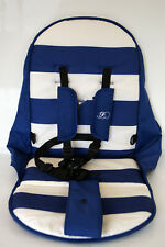 My Babiie MB30 Pushchair / Pram Replacement Seat PART Billie Faiers Blue Stripes