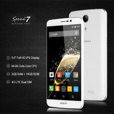 """3+16GB Octa-Core 5.0"""" ZOPO Speed 7 4G Smartphone Cellulare Android 13MP HotKnot"""