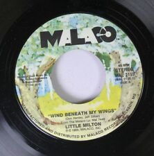 Soul 45 Little Milton - Wind Beneath My Wings / Too Much Heaven On Malaco Record