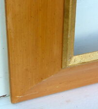 """FRAME CONTEMPORARY REVERSE COVE SOLID WOOD FITS 36"""" x 24"""" SPECTACULAR 6"""" RAILS"""