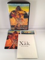 XAK The Art of Visual Stage *NTSC-JAPAN* NEC PC-8801 8800 *Complete/Big Case*
