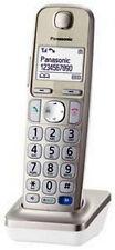 Panasonic kx-TGEA 20exn/kx-TGEA 20 exn champán nuevo terminal móvil con cargador cáscara