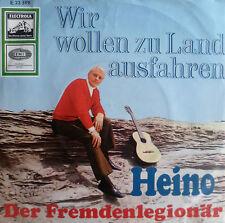 """7"""" 1967 VG++ ! HEINO ( ohne Brille ) : Wir wollen zu Land ausfahren"""