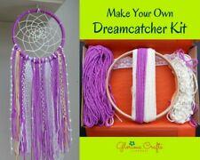 "DIY Dreamcatcher Kit, 6"", Magenta, Bohemian, Craft Kit Birthday, Christmas, Gift"