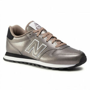 New Balance Women's 500 Trainers Gold Metallic Shoes