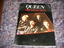 Queen Greatest Hits sheet music book- piano, guitar , vocal