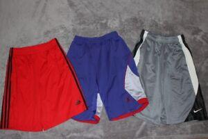 Nike Adidas Air Jordan Lot of 3 Basketball Shorts Youth Boys LARGE L  Dri-Fit