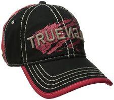 NEW TRUE RELIGION MEN'S CLASSIC PREMIUM BASEBALL TRUCKER HAT CAP BLACK TR1954