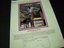 Ahmad Jamal 1982 Promo Poster Ad American Classical Music