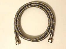 Propane Natural Gas Line 12ft Stainless Steel Braided Hose LP  LPG Grill Parts