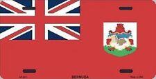 "Aluminum National Flag Bermuda ""License Plate"" NEW"