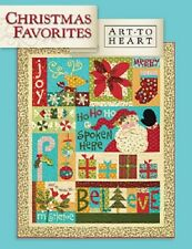 CHRISTMAS FAVORITES  by Nancy Halvorsen Art To Heart Quilting & Patchwork Book