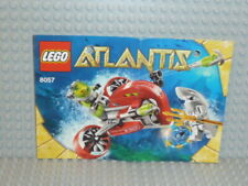 LEGO ® ATLANTIS recipe 8057 Wreck Raider instruction ungelocht b3055