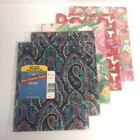 NEW- American Greetings - Forget Me Not  - Gift Wrap - Lot of 5