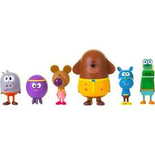 Hey Duggee Children's Figurine Toy Set, Squirrel Club Friends and Duggee Figures