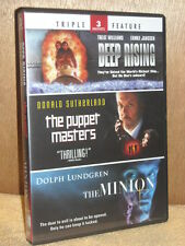 Deep Rising/The Puppet Masters/The Minion (DVD, 2013, 2-Disc Set)
