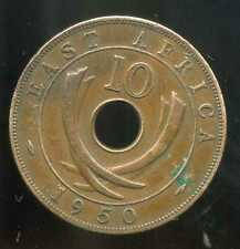 AFRIQUE de L'EST  10 cents 1950 ( british colony )