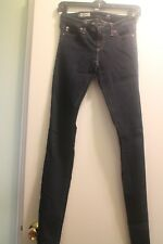 AG ADRIANO GOLDSCHMIED The LEGGING Dark SUPER SKINNY LEG Jeans Sz 25R