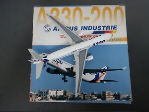 """DRAGON WINGS 1:400 A330-200 AIRBUS INDUSTRIE """"DUBAI AIRSHOW 97"""" 55040 EXC #842"""