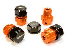 Integy Alum Billet 17mm Wheel Hex (4) +6mm Offset for Traxxas 1/10 Revo/Summit
