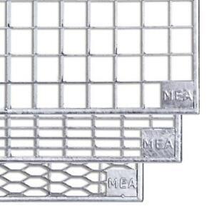 MEA Lichtschacht Gitterrost begehbar 100 cm x 40 cm