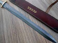 CUSTOM HANDMADE DAMASCUS STEEL SWORD IN DISCOUNT RATES. (HAPPY DEAL 0707)