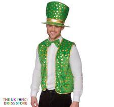 Mens Adults Irish St Patrick Day Pope Priest Vicar Bishop Fancy Dress Costume