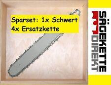 4x Kette+1x Schwert zu DOLMAR 35cm 3/8-1,3-PS-3 33 330 34 340 341 3410 342 350