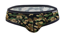 Aussiebum Underwear Billy Flex Camo Army Large (L) Mens Briefs Gym Poss Gay Int.