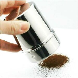 New Fine Espresso Coffee Cappuccino Barista Cocoa Flour Powder Chocolate Shaker