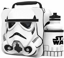 UFFICIALE Star Wars TERMICA 3D Storm Trooper Borsa pranzo box & Bevande Bottiglia Set