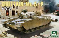 Takom 1/35 2027 British Main Battle Tank Chieftain Mk.5/P