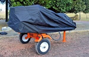 Rain cover for log splitter / machinery by Rock Machinery