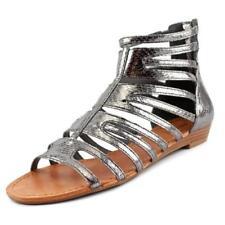 Sandalias con tiras de mujer de color principal gris talla 36