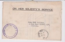 HONG KONG STAMPS BRITISH GOVERNMENT DEPARTMENT MAIL COLLECTION EXAMPLE No 50
