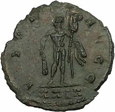 MAXIMIAN 291AD Rome Hercules Trophy Club Authentic Ancient Roman Coin i52864