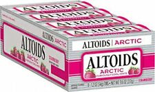 Altoids Arctic 1.2oz Sugar Free Strawberry Tins 8ct Box  (FREE PRIORITY MAIL)